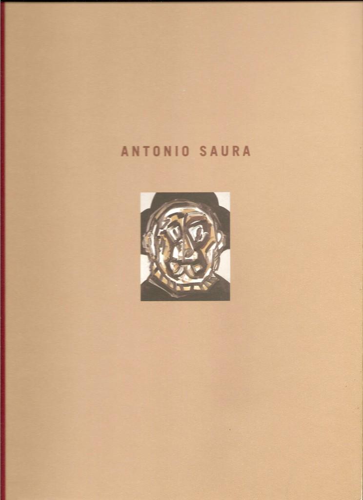 Couverture du Catalogue Antonio Saura