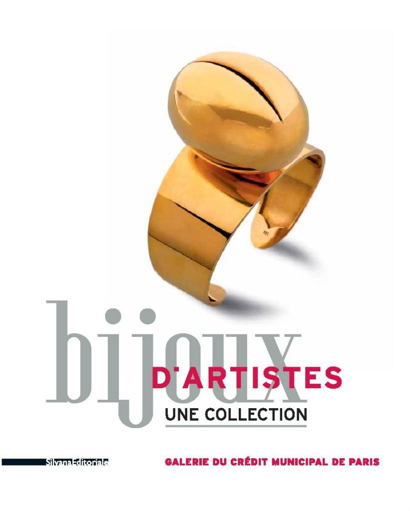 Couverture du Catalogue Bijoux d'artistes