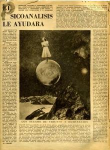 Grete Stern Idilio n° 31 juin 1949 Buenos Aires