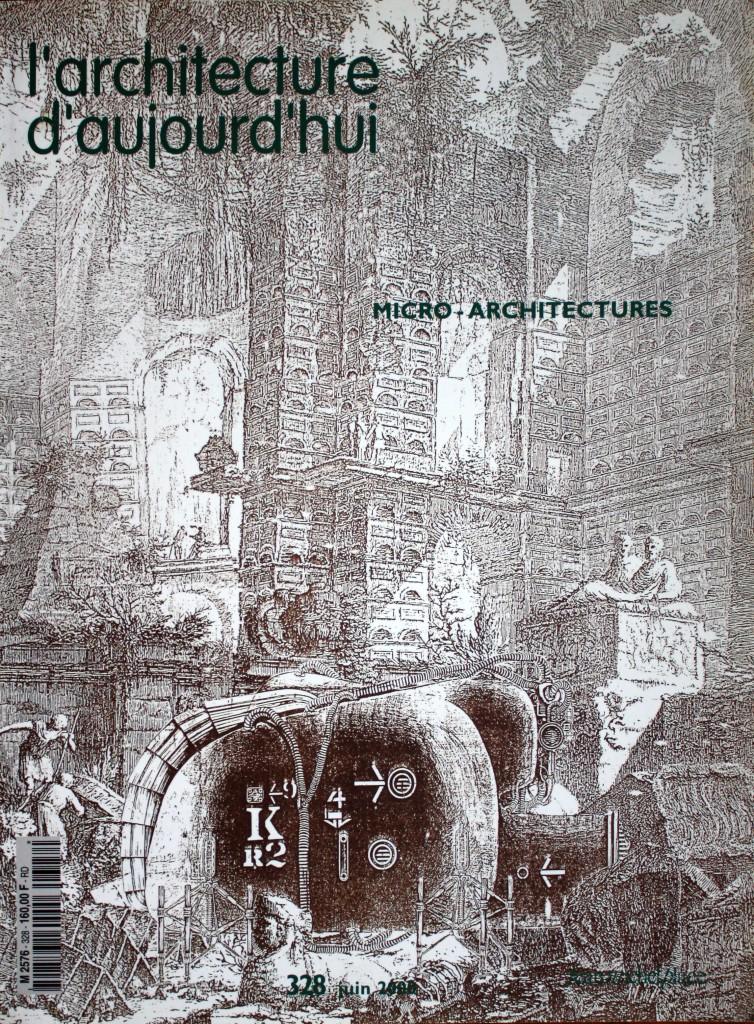 Couverture architecture d'aujourd'hui