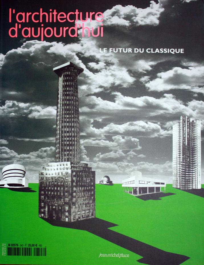 Couverture l'Architecture d'aujourd'hui n 343