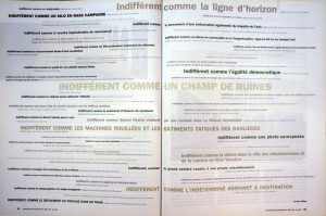 Indifférent comme un ready-made