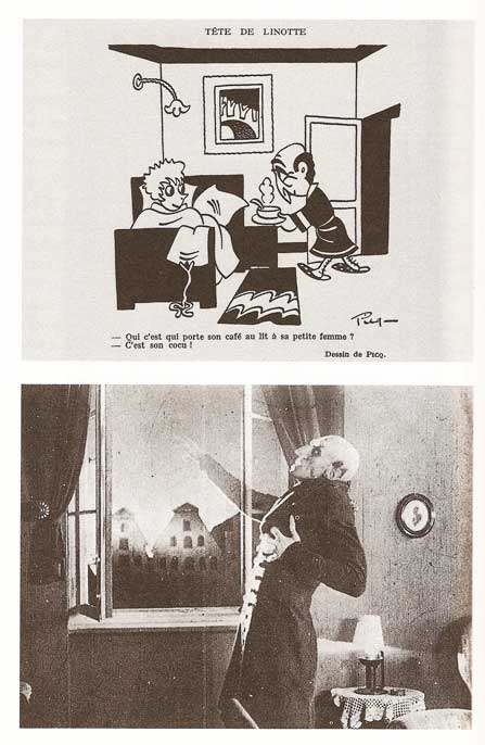 Murnau, Nosferatu le vampire, 1922 et Dessin Tête de linotte