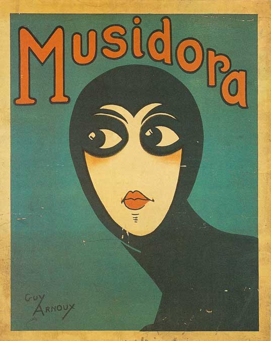 Affiche Musidoradessin de Guy Arnoux