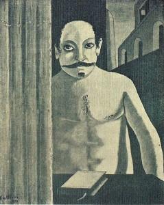Chirico-Le-cerveau-de-l'enfant-1950