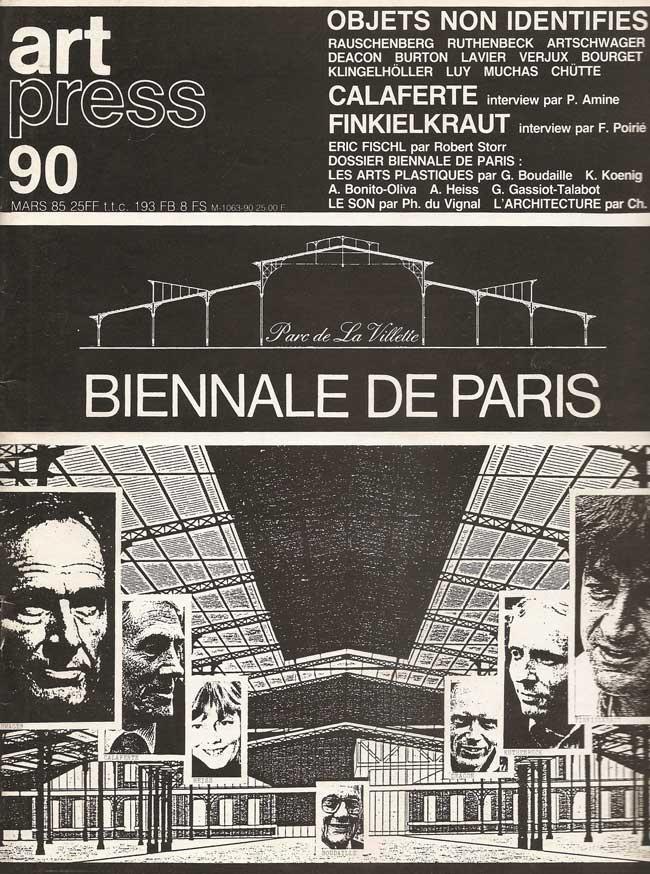 Couverture Art-press-90