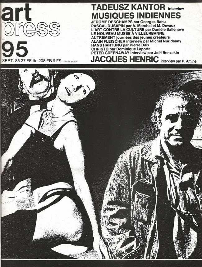 Couverture Art-press-95