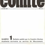 Couverture revue Comite