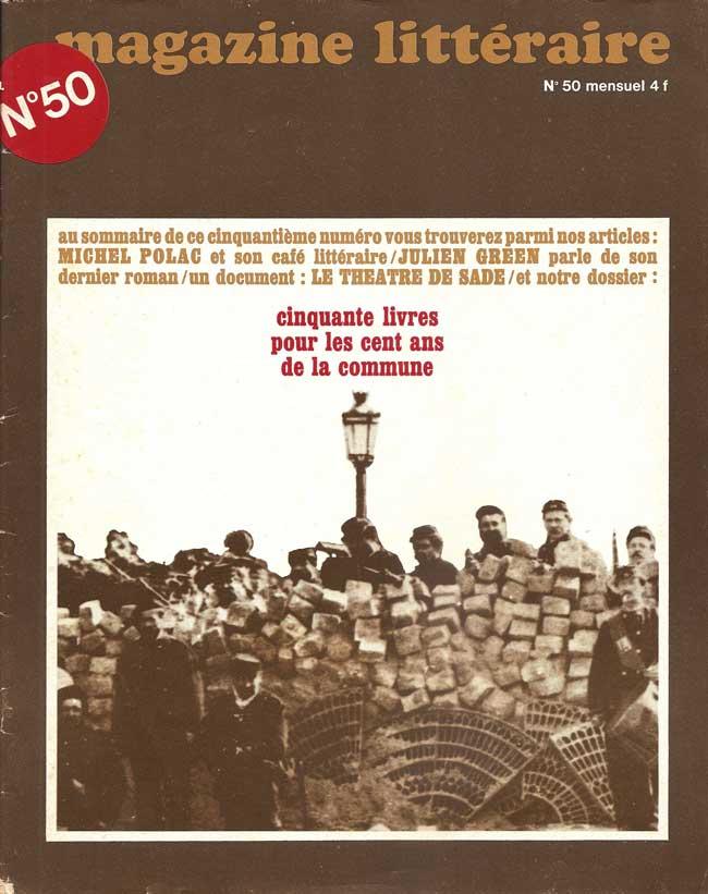 Couverture Magazine-litteraire-50
