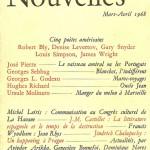Couverture Les Lettres Nouvelles