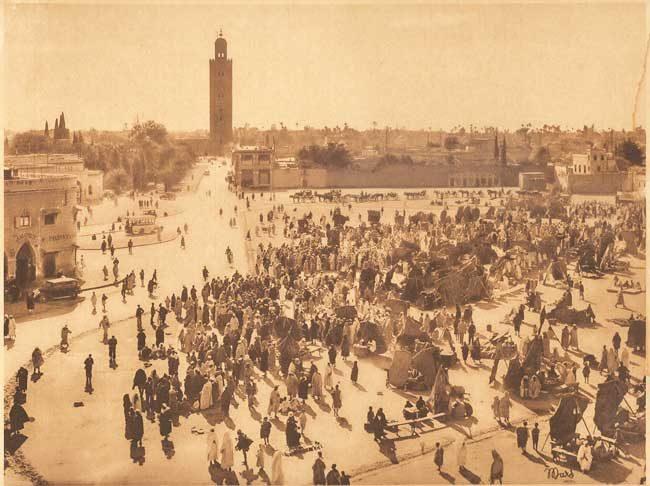 Marrakech Place Djemaa-el-Fna